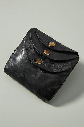 Campomaggi Three-Snap Mini Wallet
