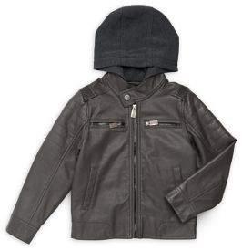 Urban Republic Little Boy's Faux Leather Jacket