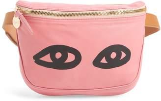Clare Vivier Eyes Lambskin Leather Belt Bag