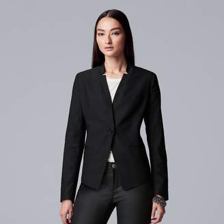 Vera Wang Women's Simply Vera Simply Cropped Blazer
