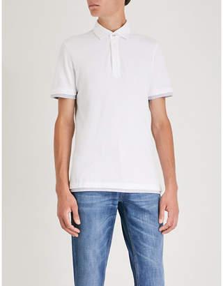 Brunello Cucinelli Slim-fit cotton-piqué polo shirt