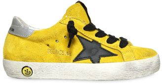 Super Star Suede Sneakers $240 thestylecure.com