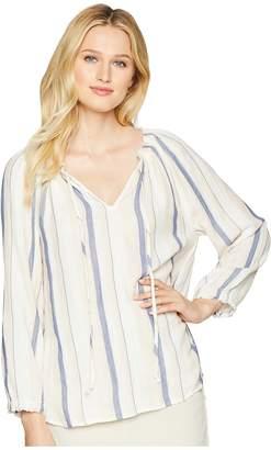 706e621adfe6b ... True Grit Dylan by Claire Stripe Long Sleeve Blouse Women s Blouse