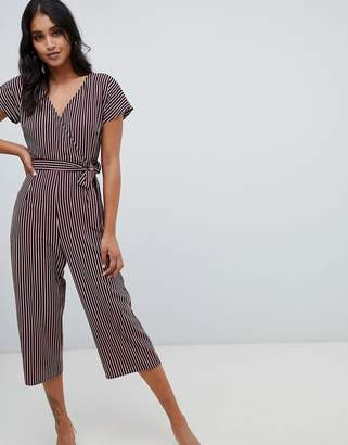 Lipsy wide leg jumpsuit in stripe