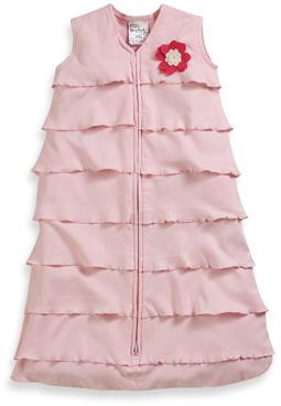 Bed Bath & Beyond HALO® 100% Cotton Pink Ruffle SleepSack®