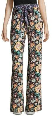 Frame Easy Floral Print Pants