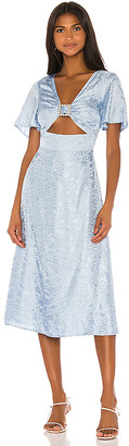 Song of Style Miranda Midi Dress
