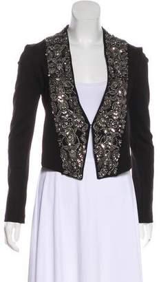 Haute Hippie Embellished Long Sleeve Jacket w/ Tags