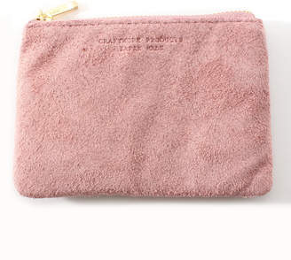 Arenot (アーノット) - アーノット スエード フラットポーチ S スモーキーピンク/ラベンダー(SUEDE FLAT POUCH S smoky pink/lavender)