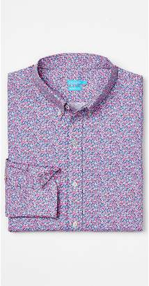 J.Mclaughlin Westend Modern Fit Shirt in Mini Floral Foulard