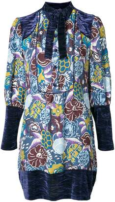 Anna Sui printed tunic dress