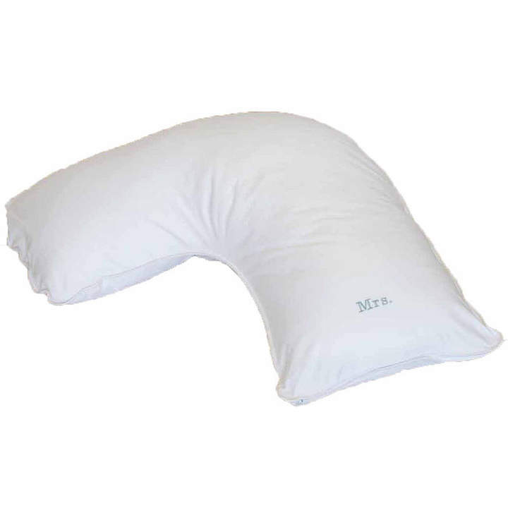 THE PILLOW BAR Breakfast in BedTM Down Alternative Side Sleeper Body Pillow with MRS