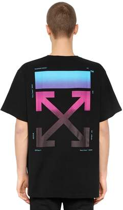 Off-White Oversized Gradient Arrows Jersey T-Shirt