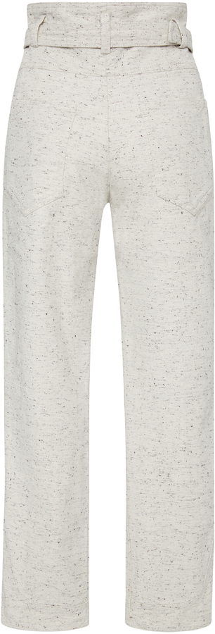 Isabel Marant High-Rise Cotton Pants 4