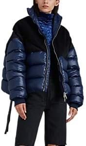 Taverniti So Ben Unravel Project Women's Oversized Puffer Jacket - Blue