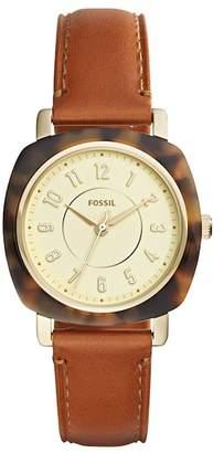 Fossil Women's Idealist Leather Strap Watch, 36mm