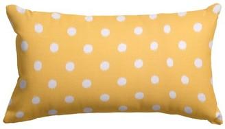 Majestic Home Goods Ikat Dot Indoor Outdoor Small Decorative Throw Pillow