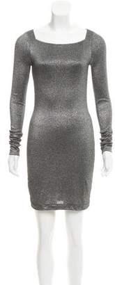 Kimberly Ovitz Metallic Mini Dress