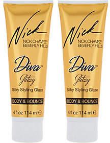 Nick Chavez Diva Glitzy Silky 4 oz. StylingGlaze Duo