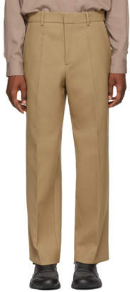 Oamc Tan Marshall Zip Trousers