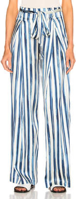 Leone We Are we are Luke Trouser in Painted Stripe | FWRD