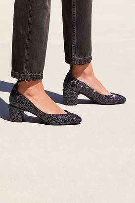 Glitter Lana Block Heel