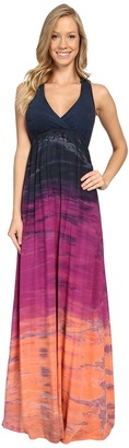 Hard Tail - Twisty Back Maxi Dress Women's Clothing $106 thestylecure.com