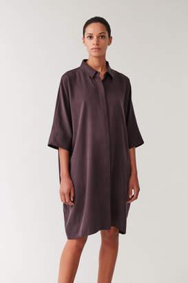 Cos DRAPED BOXY SHIRT DRESS