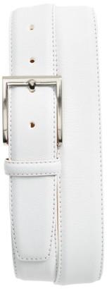 Men's Magnanni Rugo Leather Belt $150 thestylecure.com