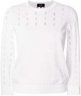 Rochas cut-out detail sweater
