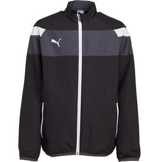 Puma Junior Boys Spirit II Woven Jacket Black