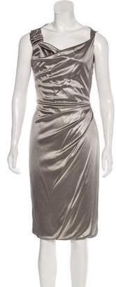 Gucci Metallic Midi Dress