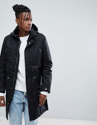 Selected 3 in 1 Parka with Removable Quilted Jacket