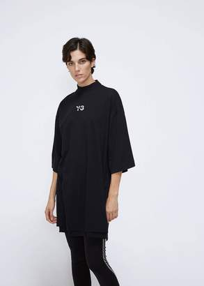 Y-3 Short Sleeve Signature Long Tee