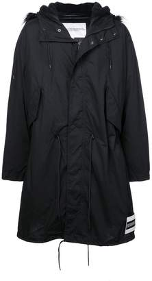 Calvin Klein Jeans Est. 1978 hooded puffer jacket