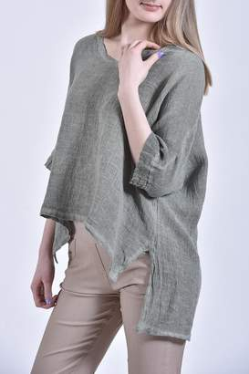 Catwalk Linen/cotton Top