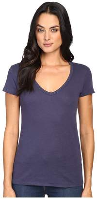 Alternative Vintage 50/50 The Keepsake V-Neck Top Women's T Shirt