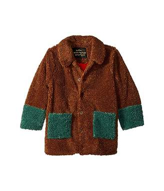 Mini Rodini Faux Fur Jacket (Infant/Toddler/Little Kids/Big Kids)