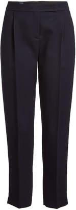 Jil Sander Navy Virgin Wool Pants