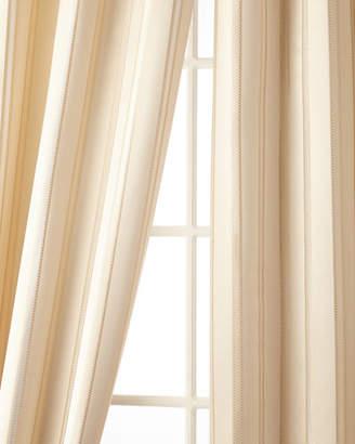 """Austin Horn Classics 52""""W x 108""""L Charlotte Striped Curtain"""