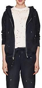 NSF Women's Chada Paint-Splattered Cotton Sweatshirt - Navy
