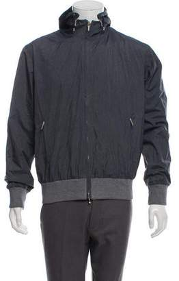 Loro Piana Hooded Storm System Windbreaker w/ Tags