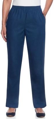 Alfred Dunner Women's Studio Pull-On Denim Pants