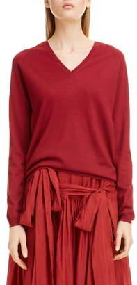 Sara Lanzi Wool V-Neck Sweater