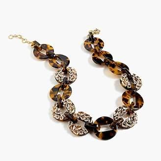 J.Crew Tortoise necklace