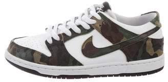 Nike SB Dunk Leather Sneakers