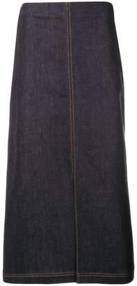 Fendi a-line high waist skirt