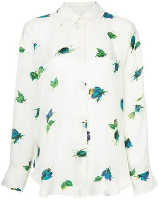 MSGM floral print shirt