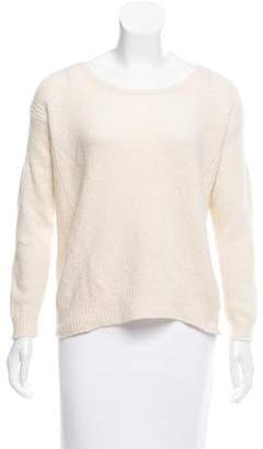 Halston Wool and Cashmere-Blend Sweater