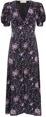 LoveShackFancy Love Shack Fancy Delaney Floral Midi Dress